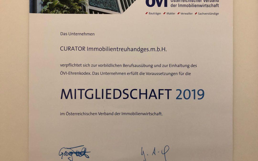 ÖVI Mitgliedschaft 2019